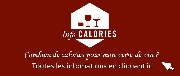 Combien de calories pour mon verre de vin ?